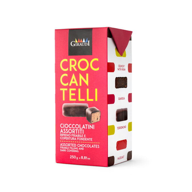 Mixed Croccantelli box 250g