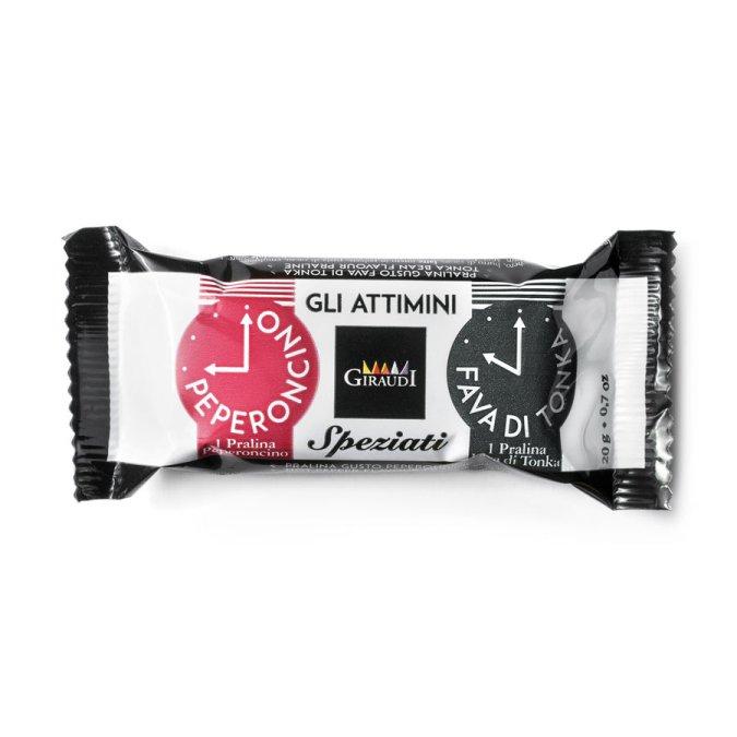 Confezione snack cioccolato Attimini Giraudi