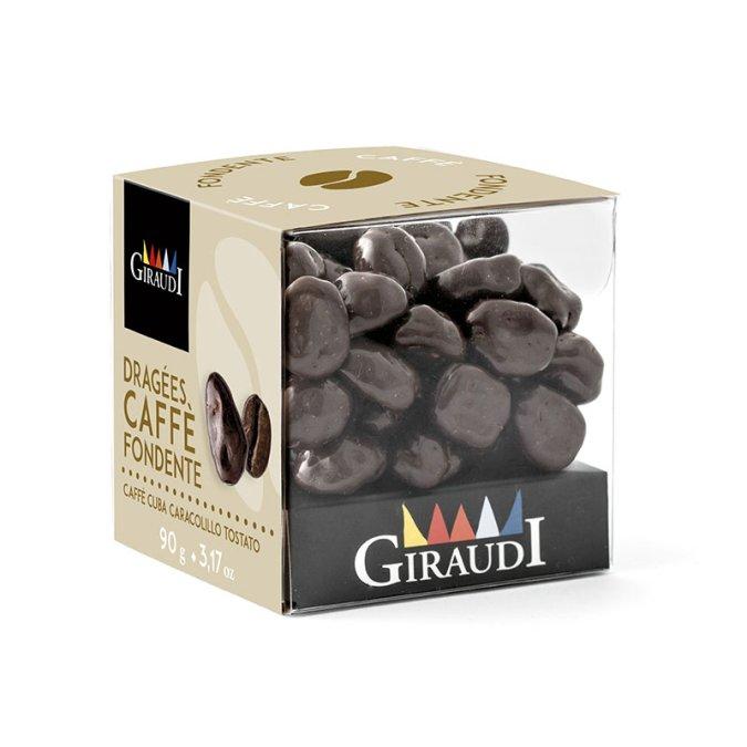 Box chicco di caffè ricoperti di cioccolato fondente Giraudi