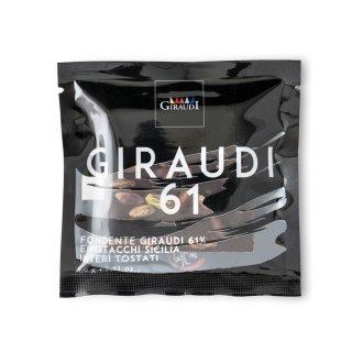 Fondente Giraudi e pistacchi di Sicilia tostati