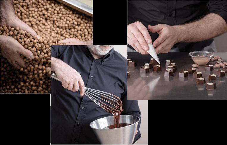 Laboratorio artigianale cioccolato Giraudi