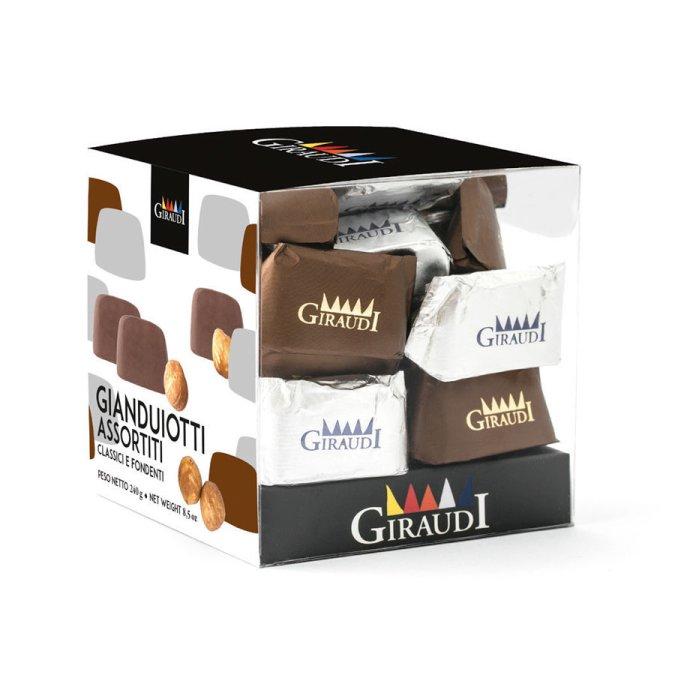 Box Gianduiotti assortiti Giraudi
