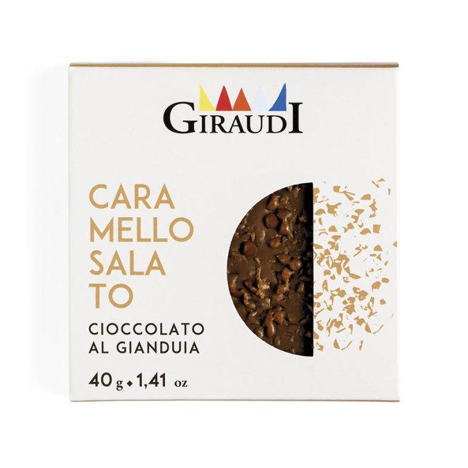 Confezione Inclusioni gianduia e caramello salato Giraudi
