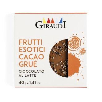 Confezione Inclusioni latte e frutti esotici Giraudi