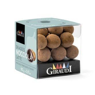 Box nocciola ricoperta di cioccolato al latte Giraudi