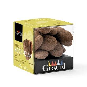 Box noce pecan ricoperta di cioccolato al latte Giraudi