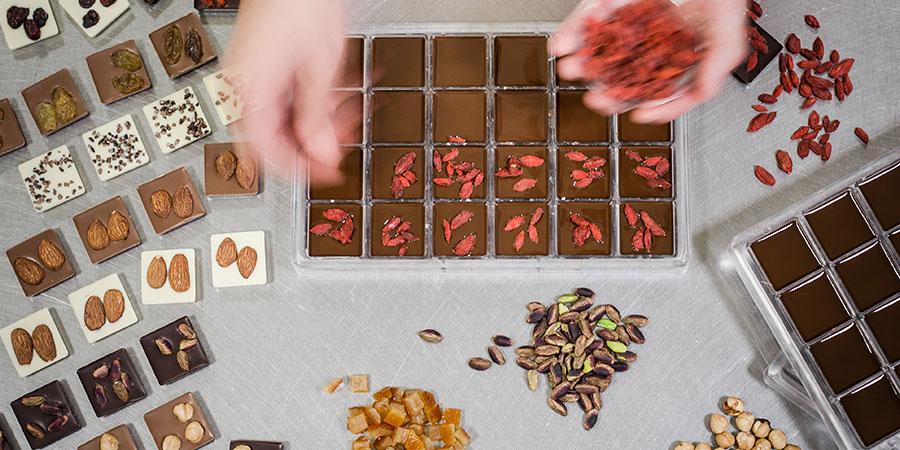 Creazioni artigianali cioccolato Giraudi