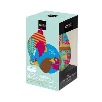 Uovo novelle al latte serigrafato Giraudi Box 1