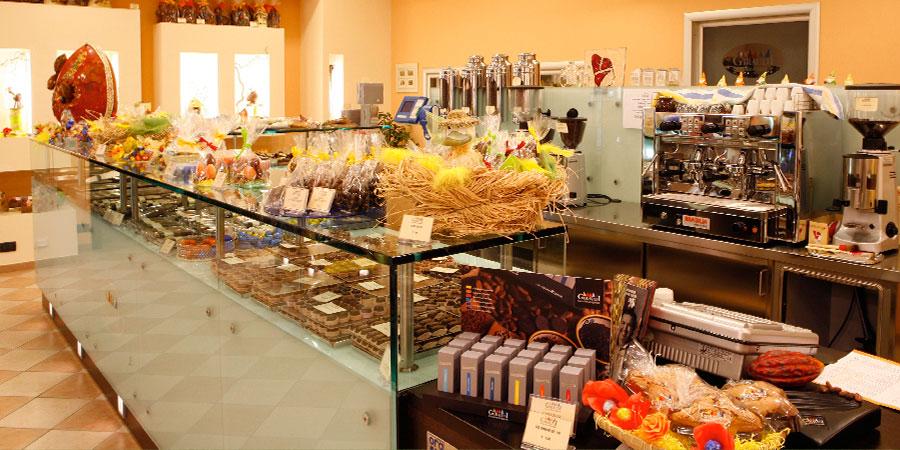 Bar cioccolato artigianale Giraudi