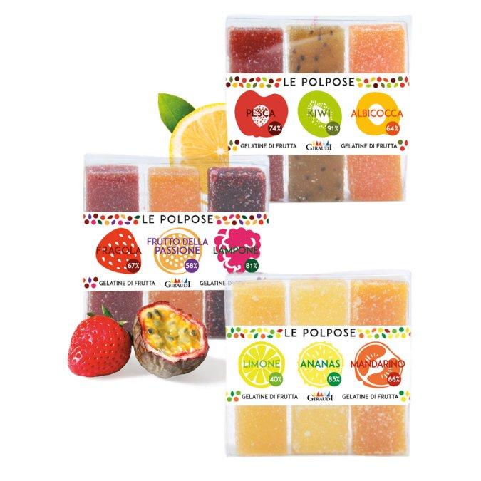 Gelatine di frutta Giraudi