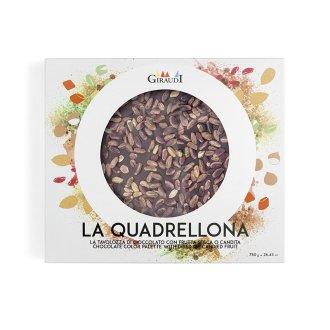 Tavoletta cioccolato fondente e pistacchio Giraudi