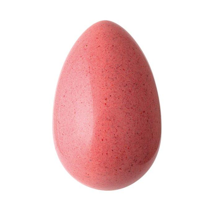 Uovo azteco bianco e lampone Giraudi