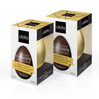 Confezione uovo inca fondente Giraudi