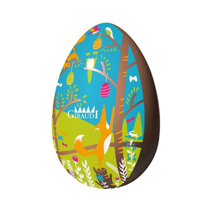 Uovo di Pasqua al latte serigrafato Giraudi