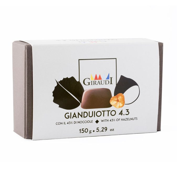 Gianduiotti 4.3 box 150g