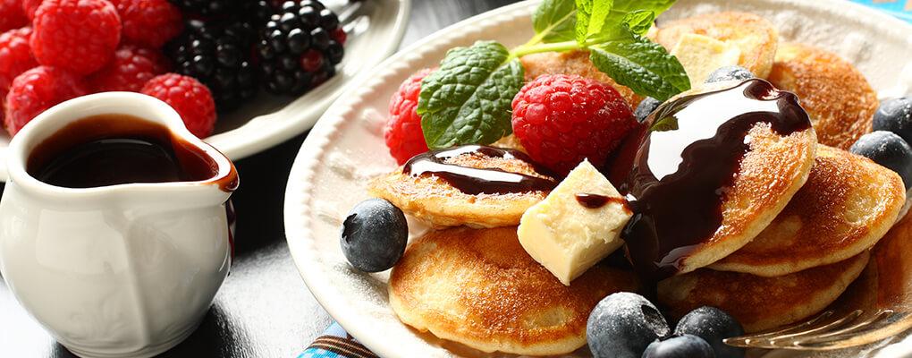 pancakes cioccolato