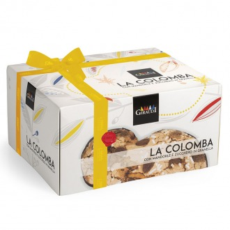 The classic Easter Colomba box 1000g