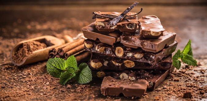 come conservare cioccolato
