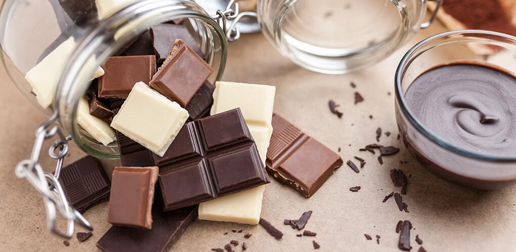 conservazione cioccolato