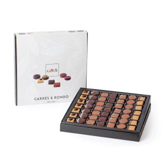 carre rondo giraudi scatola 49 cioccolatini