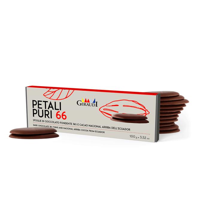 Dark Chocolate 66% Tobago Caribbeans Trinidad Petals